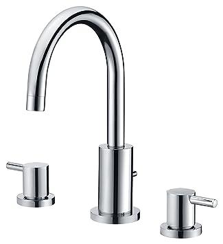 roman tub faucet with sprayer. Lien Series 2 Handle Lever Deck Mount Roman Tub Faucet With Handheld Sprayer  In