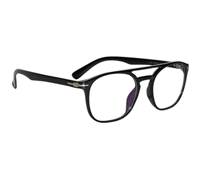 4972bbba05 Image Unavailable. Image not available for. Colour  Peter Jones Unisex Black  Square Optical Frame ...