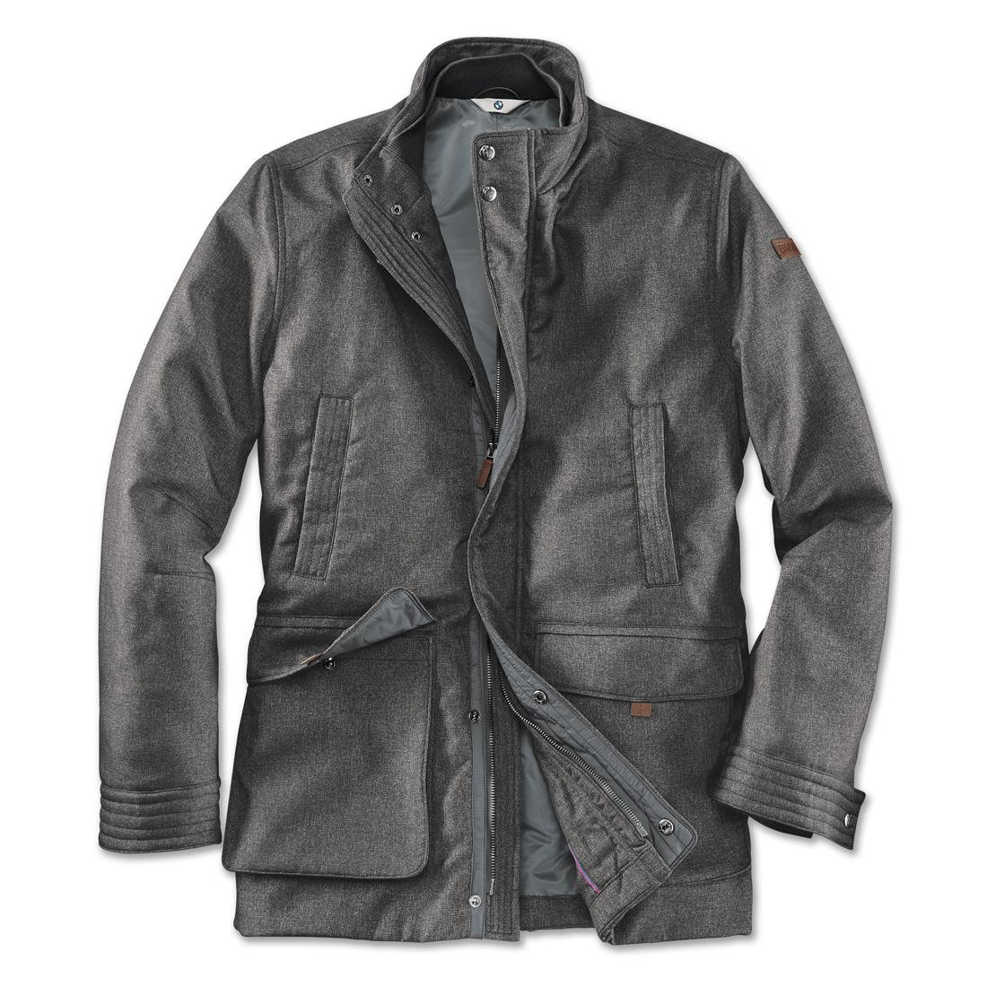 BMW Men's Jacket Grey Small