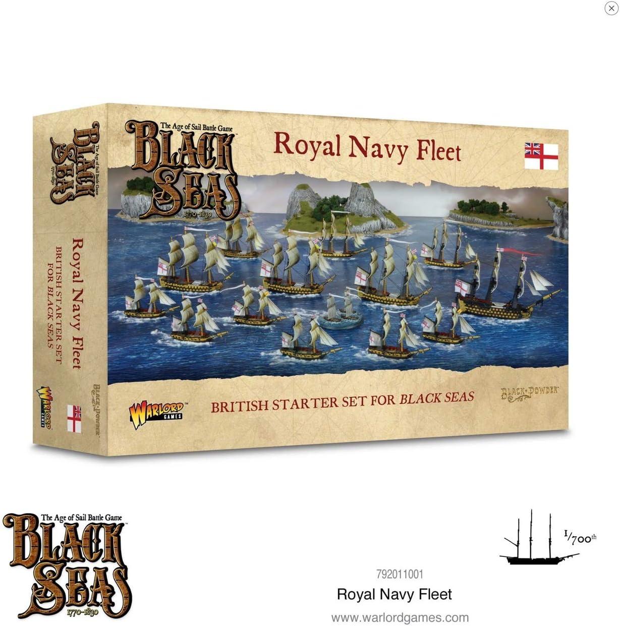 Warlord Games, Black Sea's, Royal Navy Fleet (1770 - 1830)