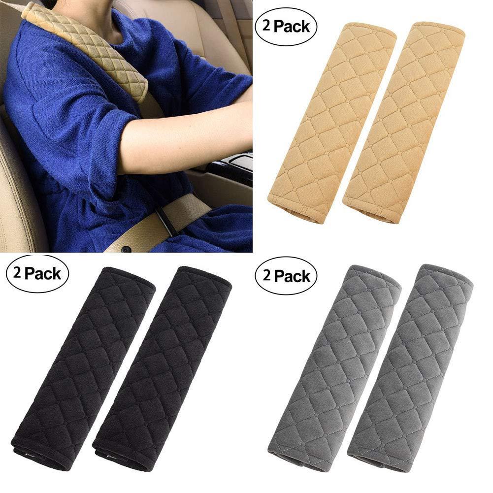 Sitzgurt-Bezug bequem weiches Schulterpolster Reisekissen Komfort-Gurtpolster Innenzubeh/ör strapazierf/ähig