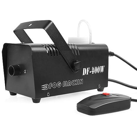 MVPOWER Máquina de Niebla 400W Control Remoto Líquido de Humo Máquina de Humo para Efecto Escenario