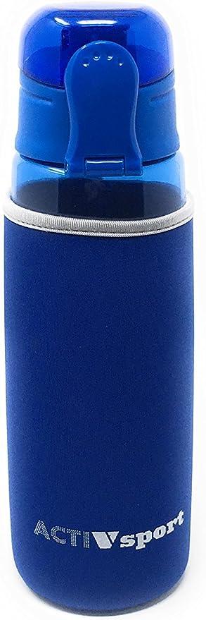 Sports Water Bottle - 3-Pack Multi-Pack or Single Bottle with Insulating Sleeve - Eastman Tritan, BPA-Free, Leak-Proof - Secured & Locking Lid, Break-Resistant