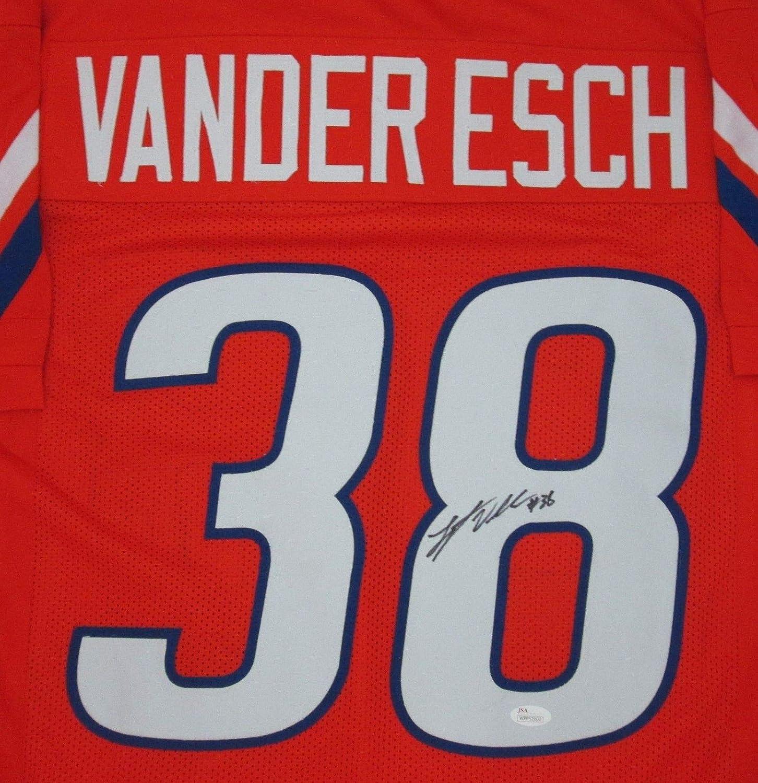 JSA Authentic Memorabilia Cowboys Leighton Vander Esch Autographed Signed Boise State Custom Orange Jersey Auto