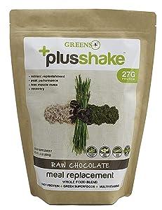 Greens+ PlusShake Chocolate 27g Protein 1.5 lb Bag