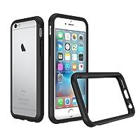 RhinoShield Coque pour iPhone 6 / iPhone 6s [Bumper CrashGuard] | Housse Fine avec Technologie Absorption des Chocs [Résiste aux Chutes de Plus DE 3,5 mètres] - Noir