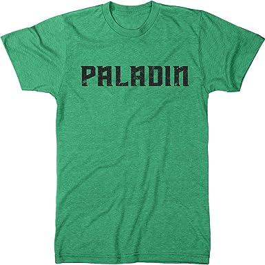 Amazon com: Trunk Candy Paladin Slogan Men's Modern Fit T-Shirt