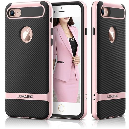 3 opinioni per Custodia iphone 7 , Premium armor [doppio strato] paraurti [Cornice dura del PC