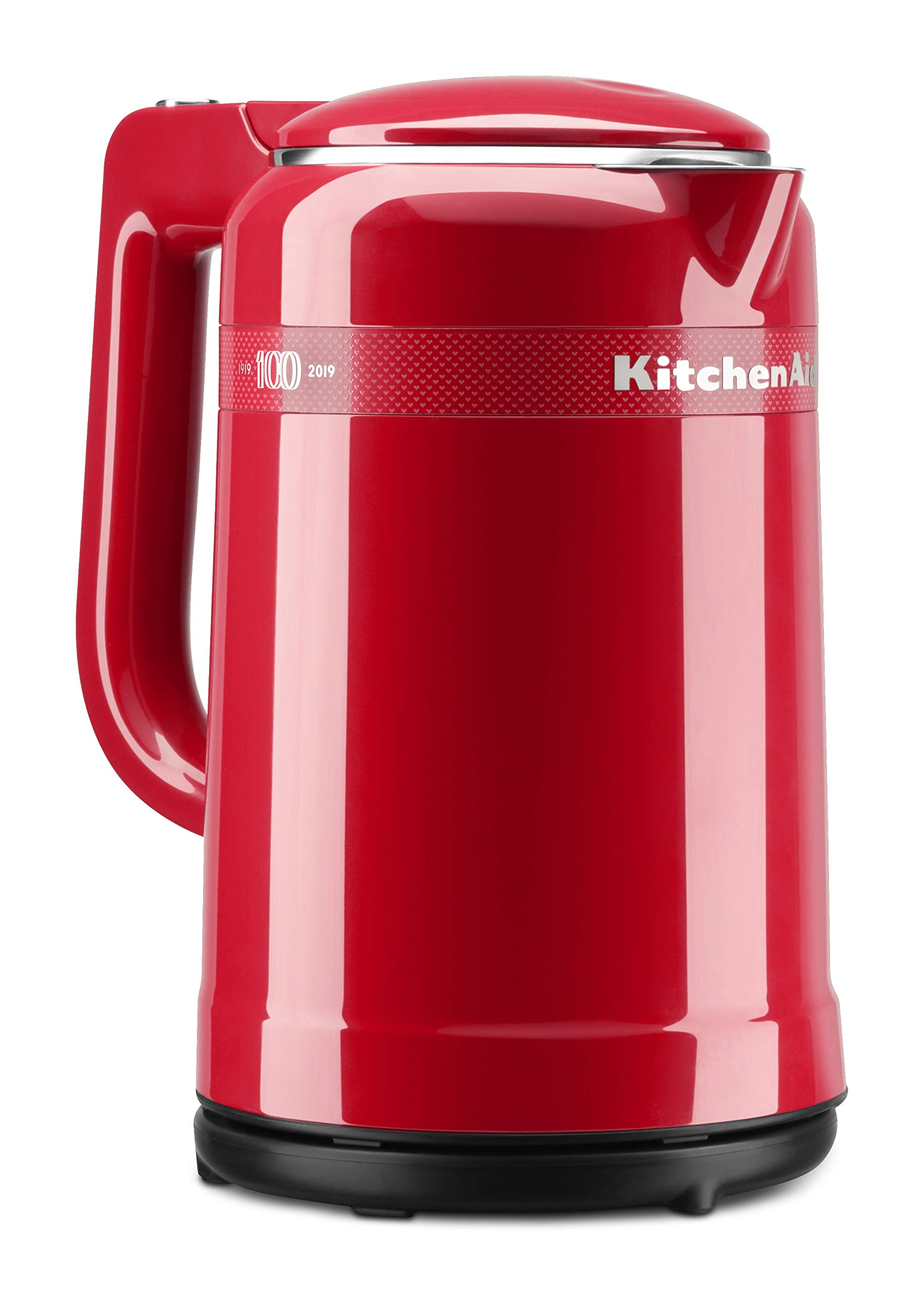 KitchenAid KEK1565QHSD 100 Year Limited Edition Queen of Hearts Electric Kettle, Passion Red