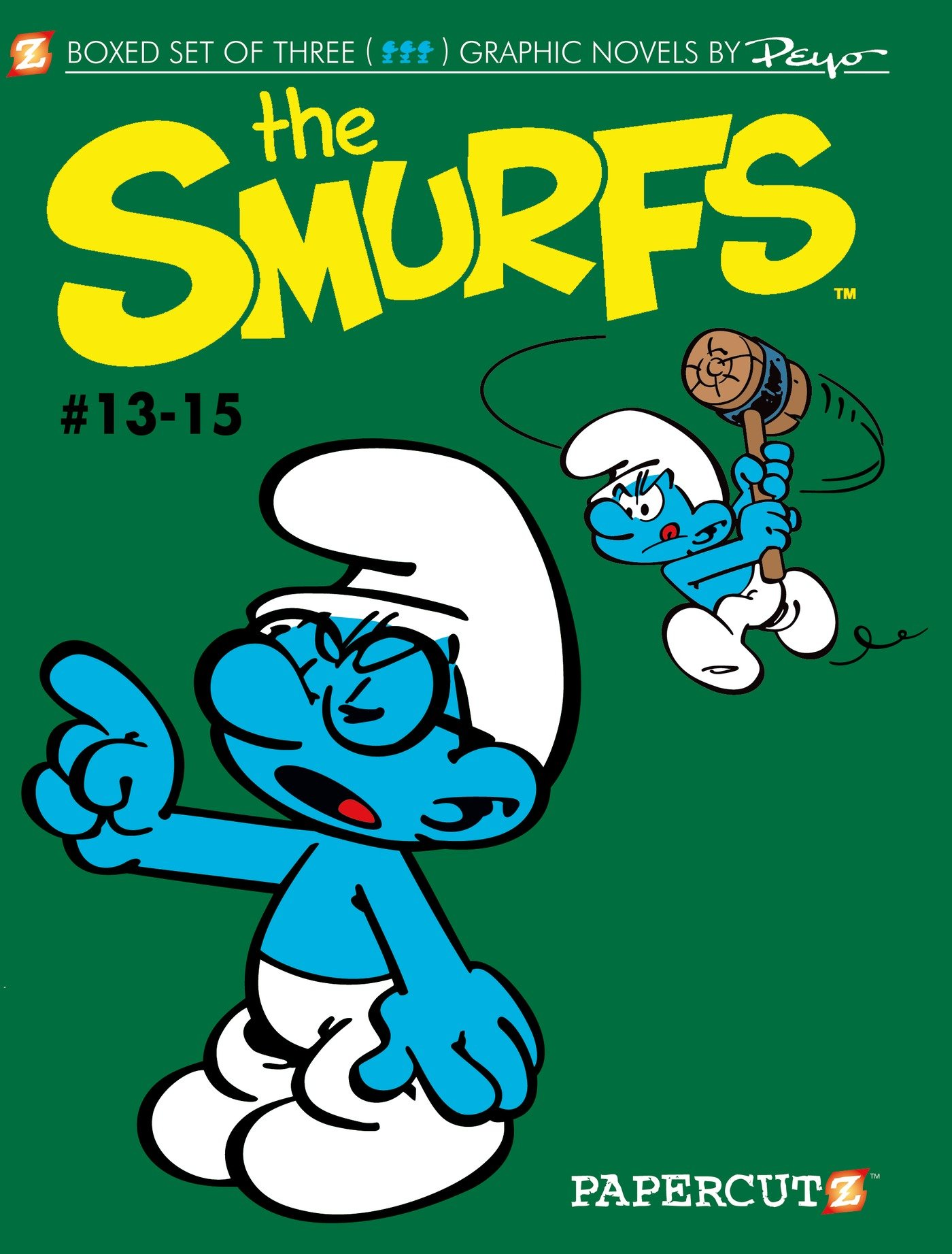 Smurfs Graphic Novels Boxed Set: Vol. #13-15, The (The Smurfs Graphic Novels) pdf epub