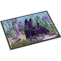 """Caroline's Treasures SS8666MAT Scottish Terrier Indoor Outdoor Doormat, 18"""" x 27"""", Multicolor"""