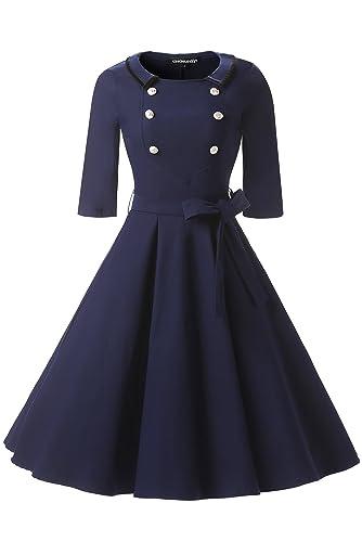 Gigileer -  Vestito  - Donna blu navy Large