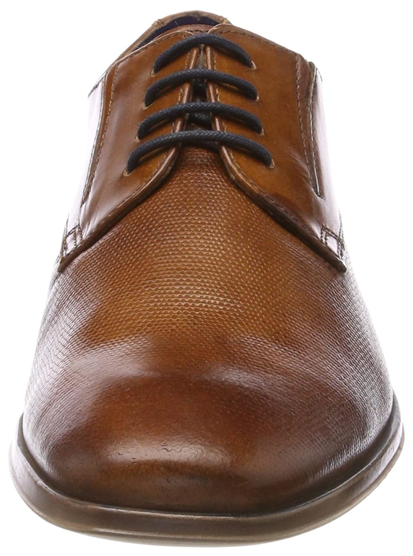 250db034d54 Zapatos de Cordones Derby Para Hombre Bugatti 312294011100 Zapatos ...