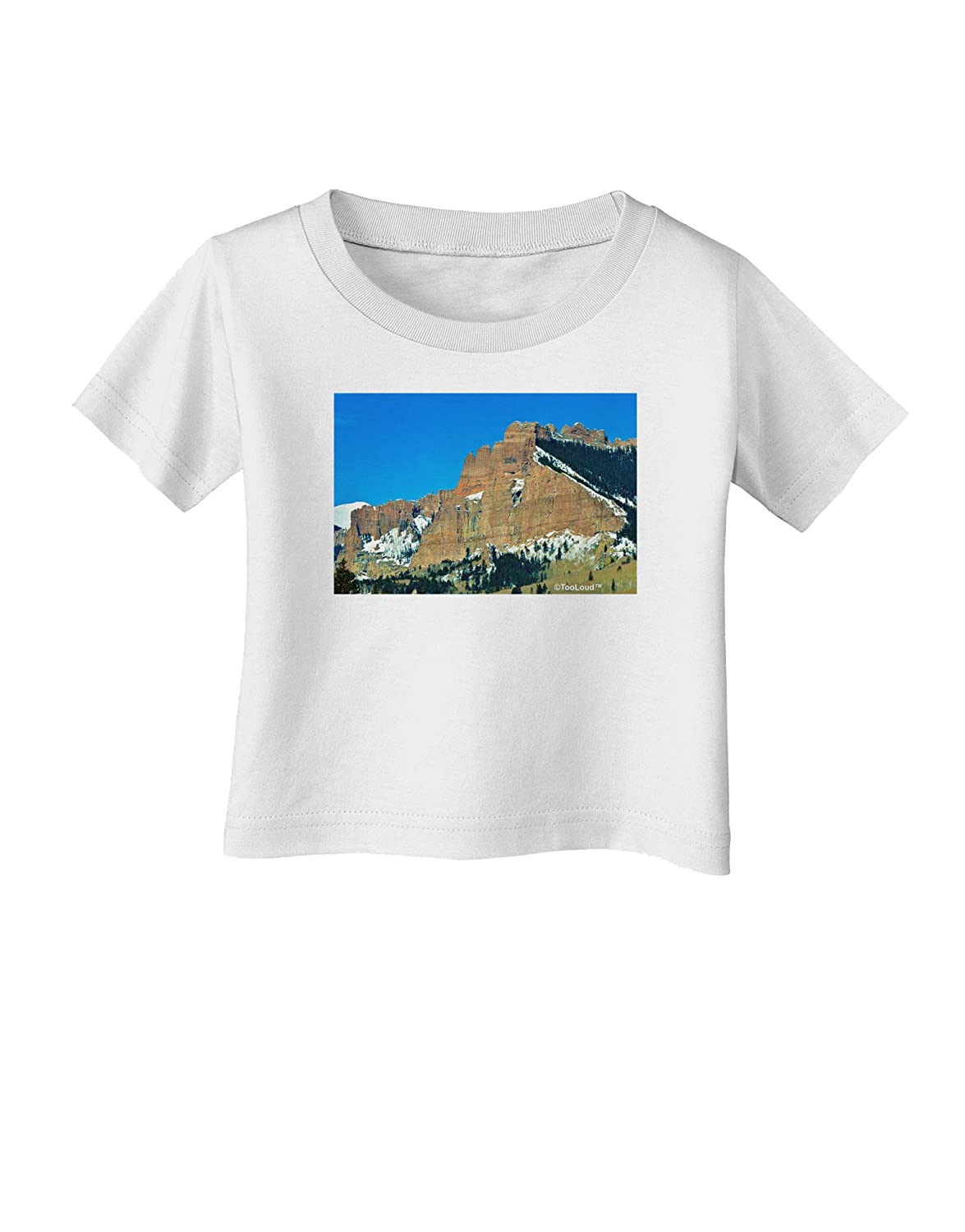 TooLoud Colorado Snowy Mountains Infant T-Shirt