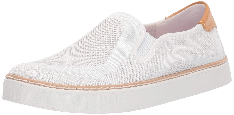 81121b7446b14 Dr. Scholl's Shoes Women's Madi Sneaker, White Knit, 8.5 M US