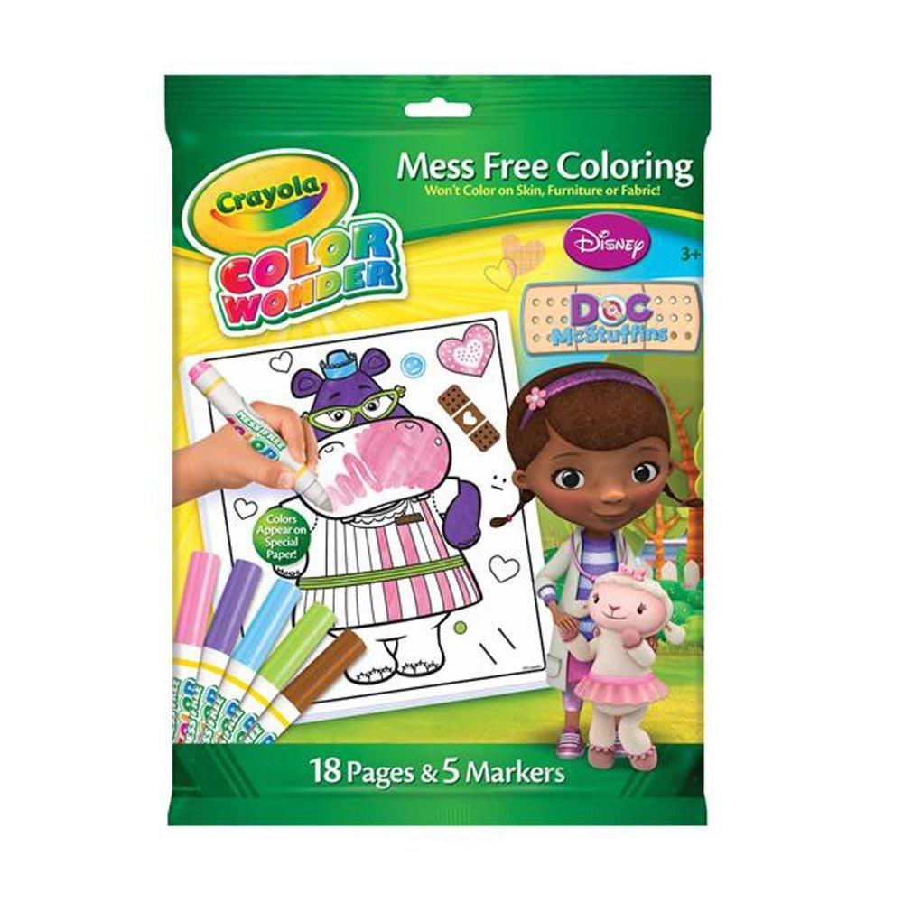 crayola color wonder doc mcstuffins amazon co uk toys u0026 games