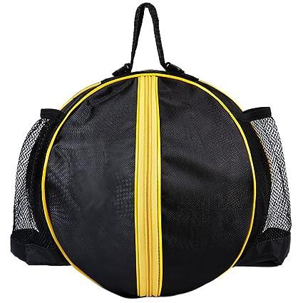 Amazon.com: Forma redonda bolsa para pelotas baloncesto ...