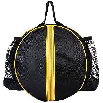 Amazon.com : Mofeng Round Shape Ball Bag Basketball Football ...