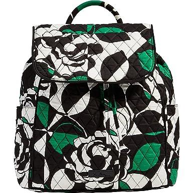 8a9c7e8044 Amazon.com  Vera Bradley Women s Drawstring Backpack Imperial Rose ...