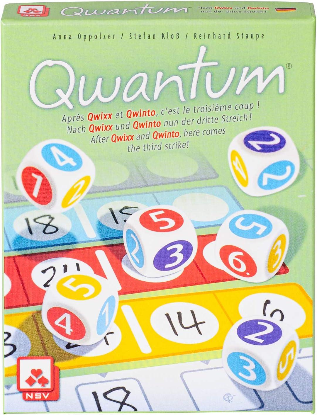 NSV - 4077 - QWANTUM - International - Juego de Dados: Amazon.es: Juguetes y juegos