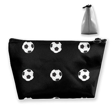 00e0d7459d06 Amazon.com: TR2YU7YT Soccer Ball Seamless Pattern Toiletry Bag ...