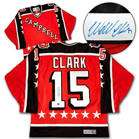 Amazon.com  Wendel Clark Autographed Uniform - 1986 NHL All Star Game  Campbell Conference - Autographed NHL Jerseys  Sports Collectibles e13131fb3