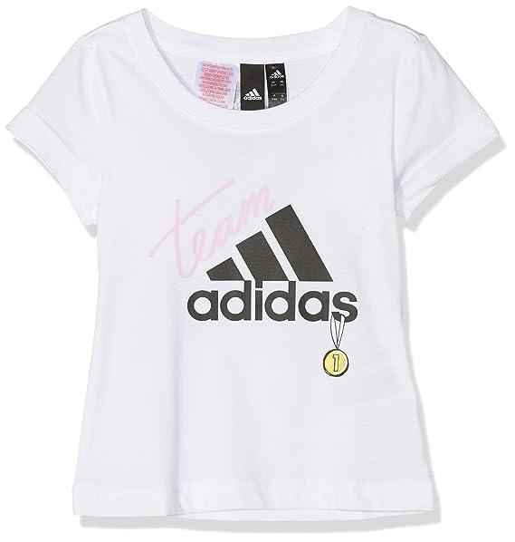 high fashion shop look for adidas Mädchen Yg Id Graphic T-Shirt