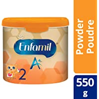 Enfamil A+ 2 Infant Formula, Powder Tub, 550g