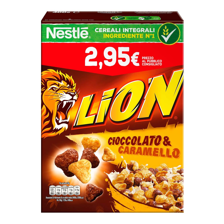 Nestl� Lion Cereali al Cioccolato e Caramello