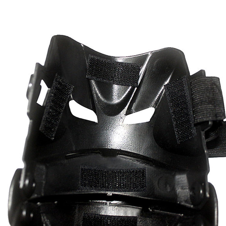 Motorrad Kniesch/ützer Knieprotektor Knee Schutz Armsch/ützer Protector Schutzausr/üstung f/ür Motocross MX Rennen Erwachsene schwarz