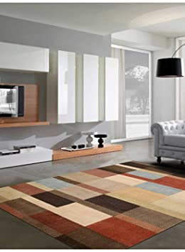 Nourison Tapis Pour Couloir Patch Mondrian Multicolore 70 X