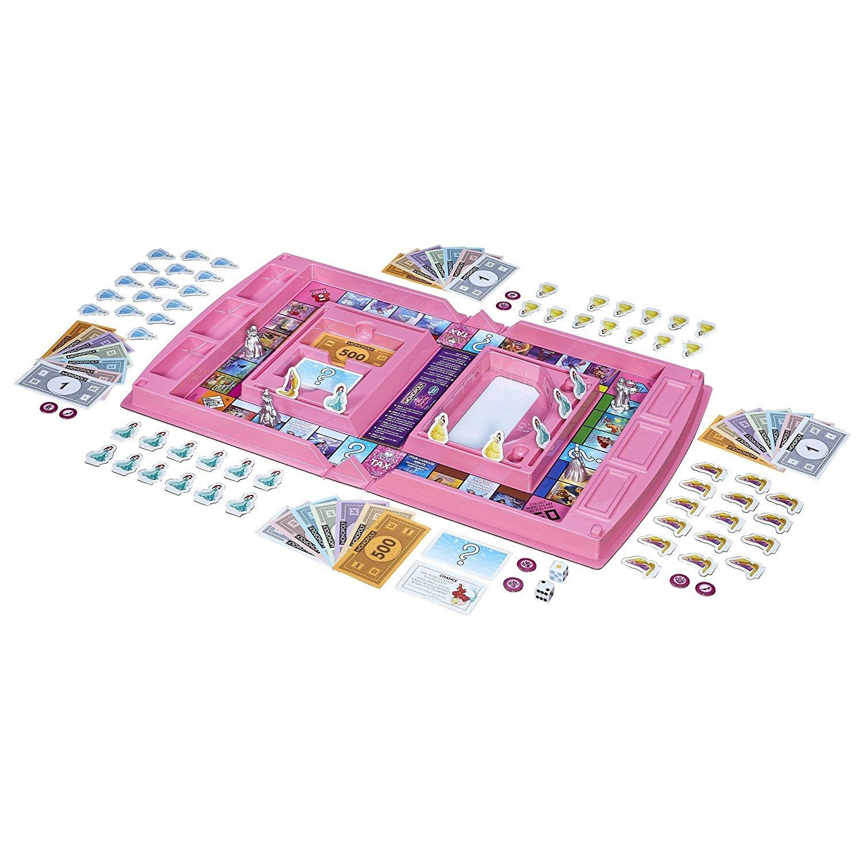 Hasbro Juego De Mesa Monopoly Junior Con Diseno Frozen B22471050