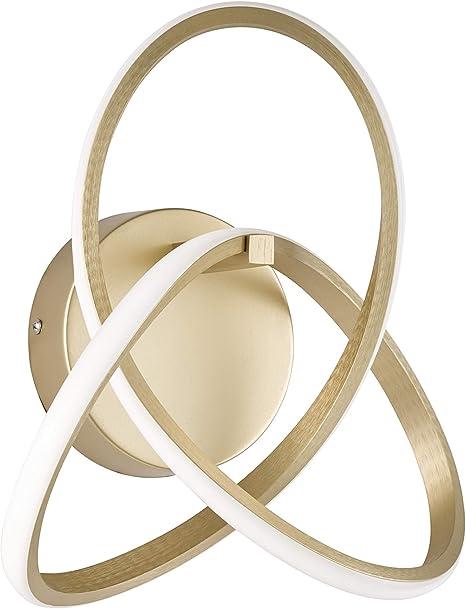 Wofi Indigo Lampada Da Parete In Alluminio Colore Oro Opaco Amazon It Illuminazione