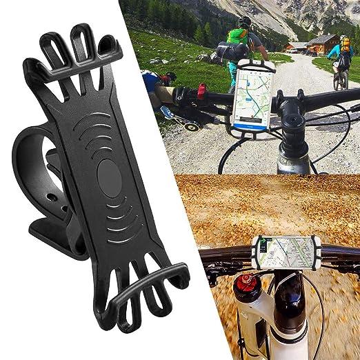 Webla Soporte para teléfono de bicicleta de silicona Soporte ...