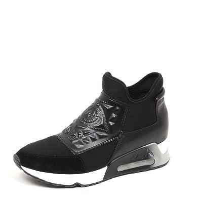 7efdb0101f60c6 ASH Schuhe Laser Goth Sneaker Damen 39 Schwarz  Amazon.de  Schuhe ...
