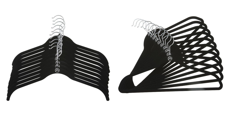 8f782c5954614 Amazon.com  Joy Mangano 24 Pk Suit Shirt Huggable Hangers