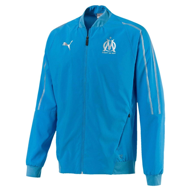 Puma Olympique de Marseille Herren Gewebte Jacke