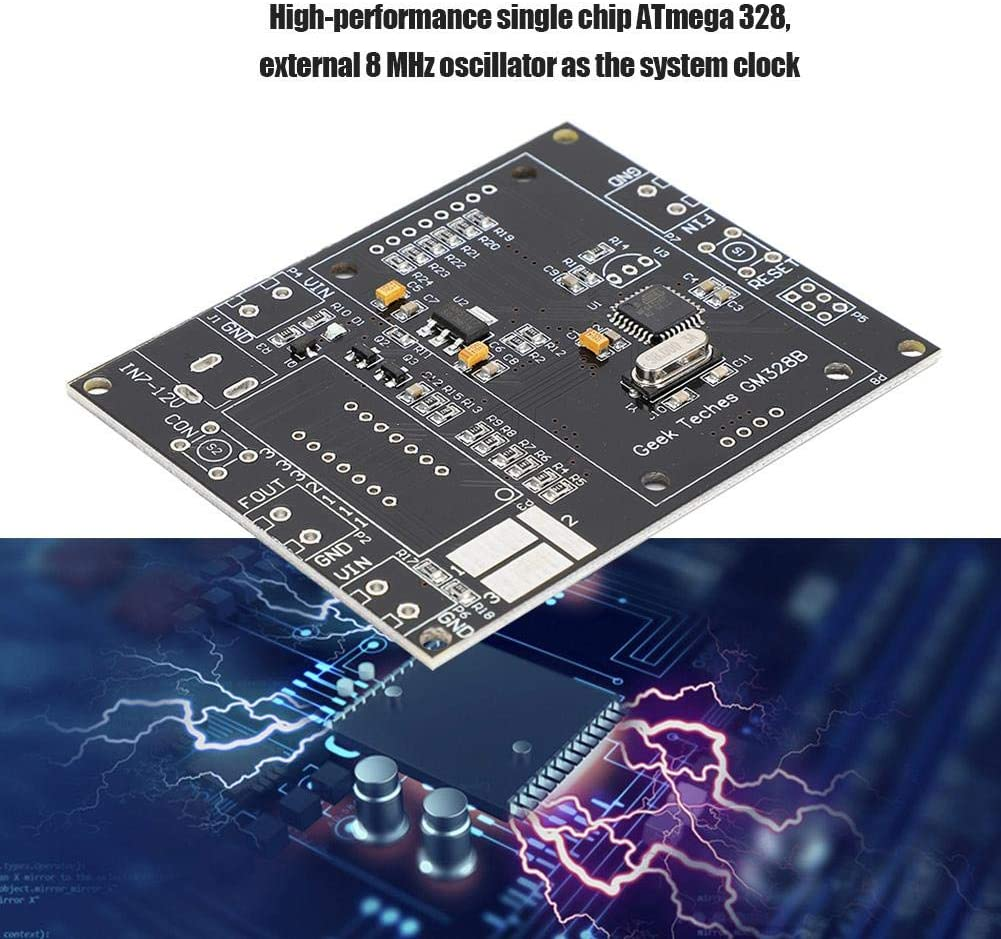 Single-Key Operation for N-Channels eboxer-1 GM328B Wave Generator Parts P-Channels for NPN and PNP Transistors Detection GM328B LCD Transistor Tester DIY Parts