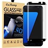 Galaxy S7 Edge Screen Protector,S7 Edge Glass Screen Protector,CaRany Anti-Bubble Ultra HD Tempered Glass Screen Protector for Samsung Galaxy S7 Edge