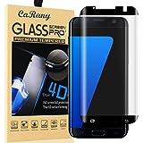 Galaxy S7 Edge Screen Protector,S7 Edge Glass Screen Protector,Msugar Anti-Bubble Ultra HD Tempered Glass Screen Protector for Samsung Galaxy S7 Edge