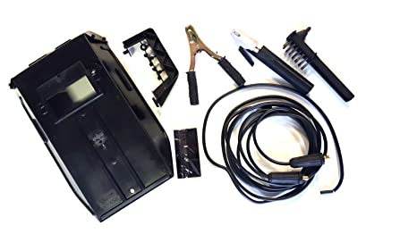 Telwin 732144 Kit soldadura máscara y cables, 16 mm, Multicolor