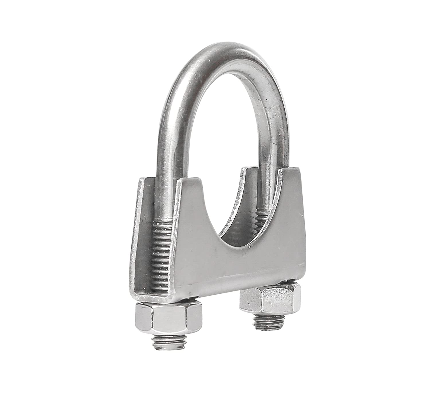 TOTALFLOW 3.5 TF-JB61 304 Stainless Steel Butt Joint Exhaust Muffler Clamp Band-3.5 Inch