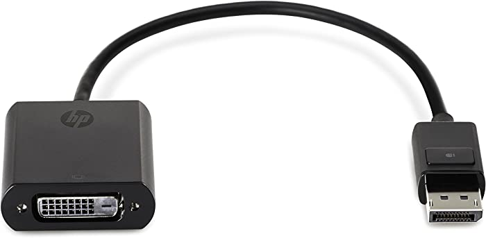 Hp Displayport to DVI Adapter 752660-001 Replacement for 481409-002