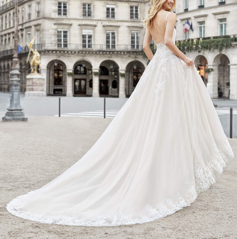 Yisha Bello Womens V-Neck Lace Mother of The Bride Dress Long Chiffon 2//3 Sleeve Evening Formal Dress