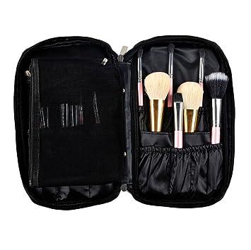 98f8d3c6f7 Amazon.com   Bemas Pro Makeup Brush Bag Cosmetic Tool Brush Organizer  Holder Pouch Pocket Kit (black)   Beauty