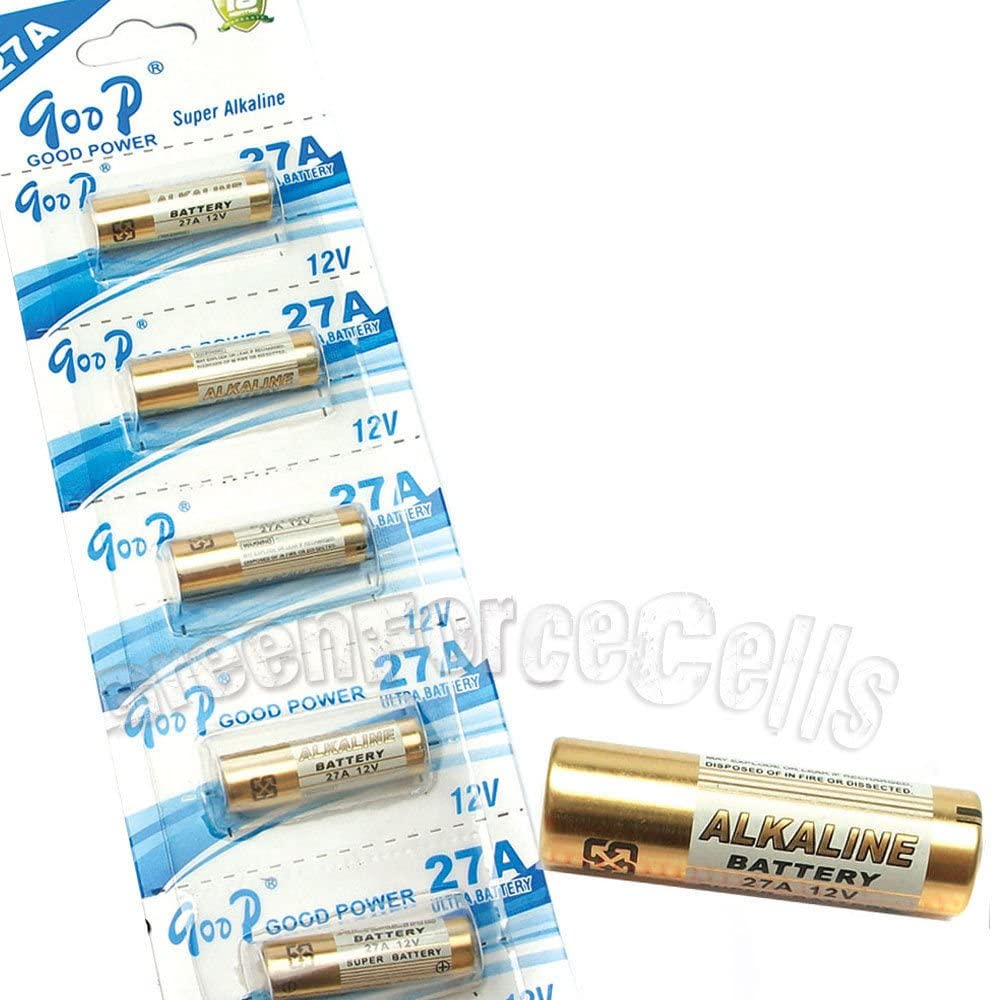 ENERGIZER 27A-A27-12V-MN27 MS27 GP27A V27GA L828 G27A Alkaline Battery-New Pack of 10