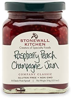 product image for Stonewall Kitchen Raspberry Peach Champagne Jam, 12.5 Ounces