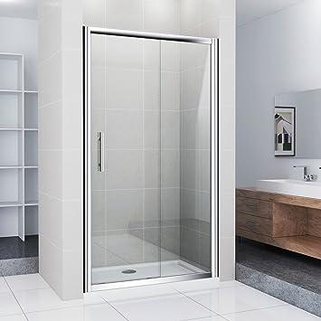 Mampara nichos para puerta corredera puerta de ducha con ducha bañera 110 x 70 cm (ns4 – 11 + asr7011): Amazon.es: Bricolaje y herramientas