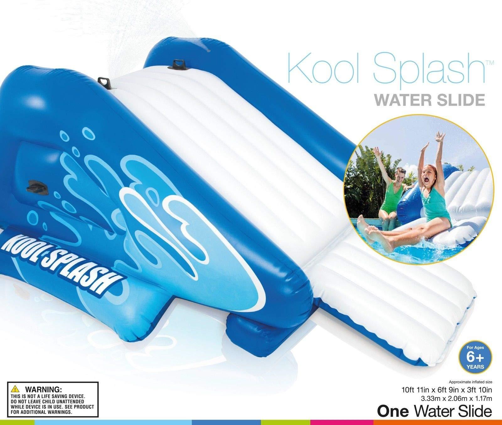 Alek...Shop Water Slide Accessory Play Swimming Pool Inflatable Splash Slide Kids Easy Fun Game Family Center Slide by Alek...Shop (Image #6)