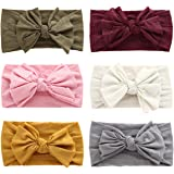 Baby Girl Headbands with Bows Soft Nylon Newborn Headbands for Baby Girls Toddler Infants Hair Bows Hair Accessories